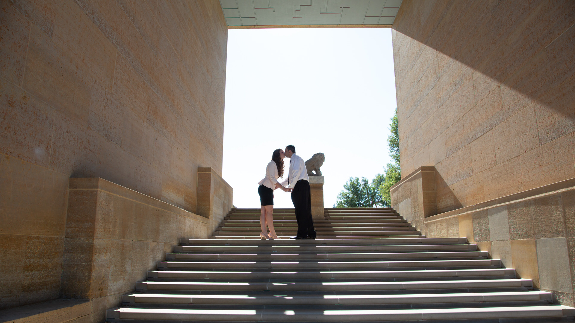 Katie & Ahmed, An Engagement Photo Session at Cranbrook