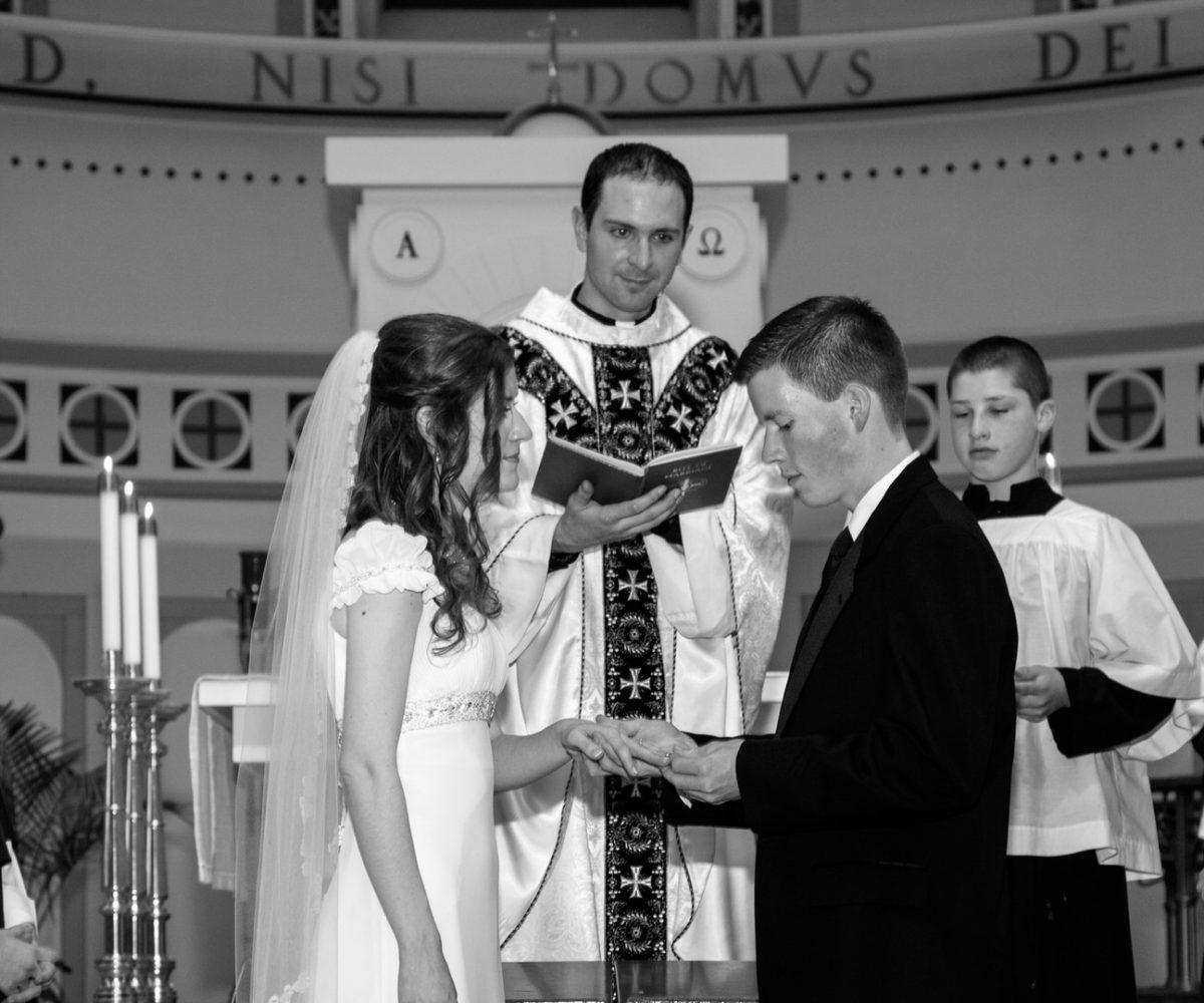 Anna & Edward's Wedding at St. Thomas the Apostle Parish Church