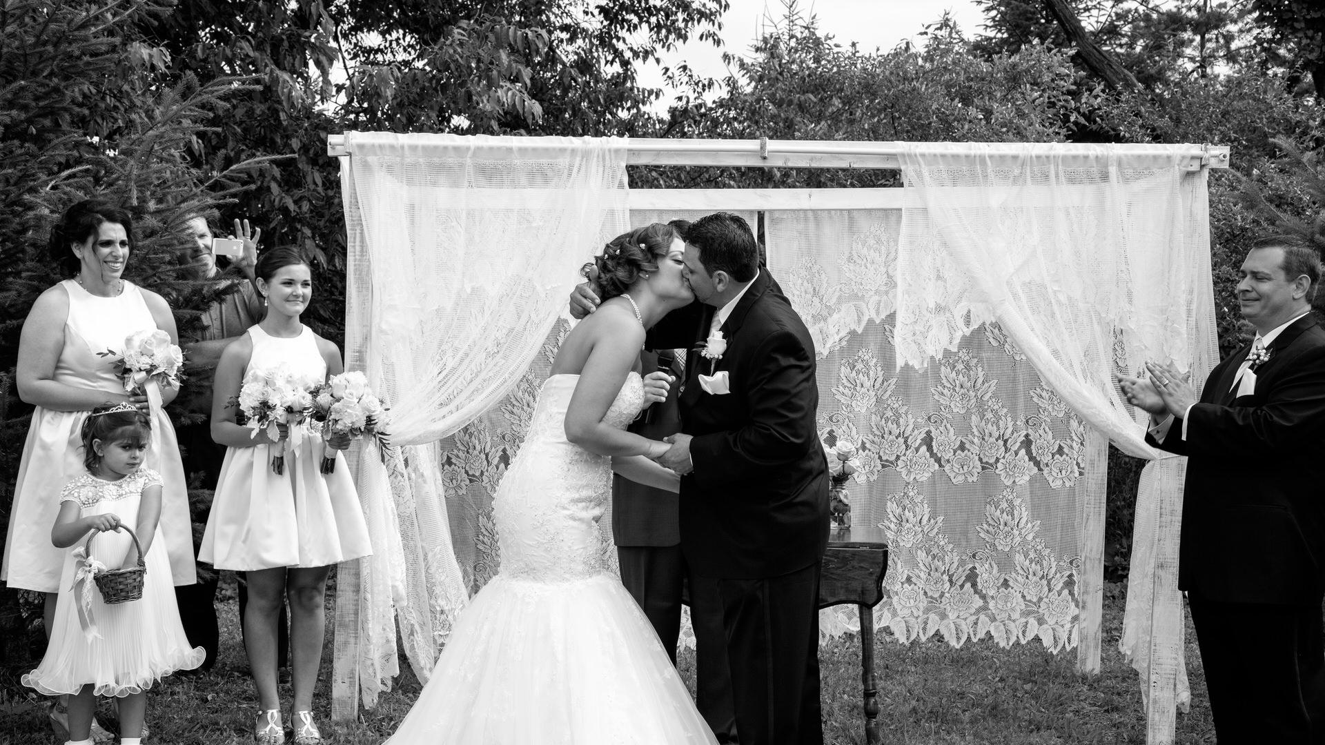 Katie & Ahmed's Backyard Wedding