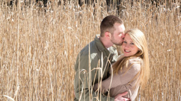 Cameron & Robert's Engagement Photo Session at Cranbrook Schools