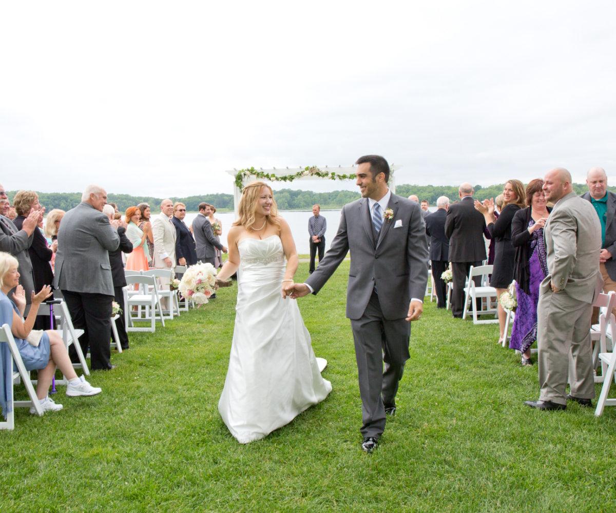 Laura & Dave's Wedding @ Waldenwoods Banquet Center, Hartland, MI