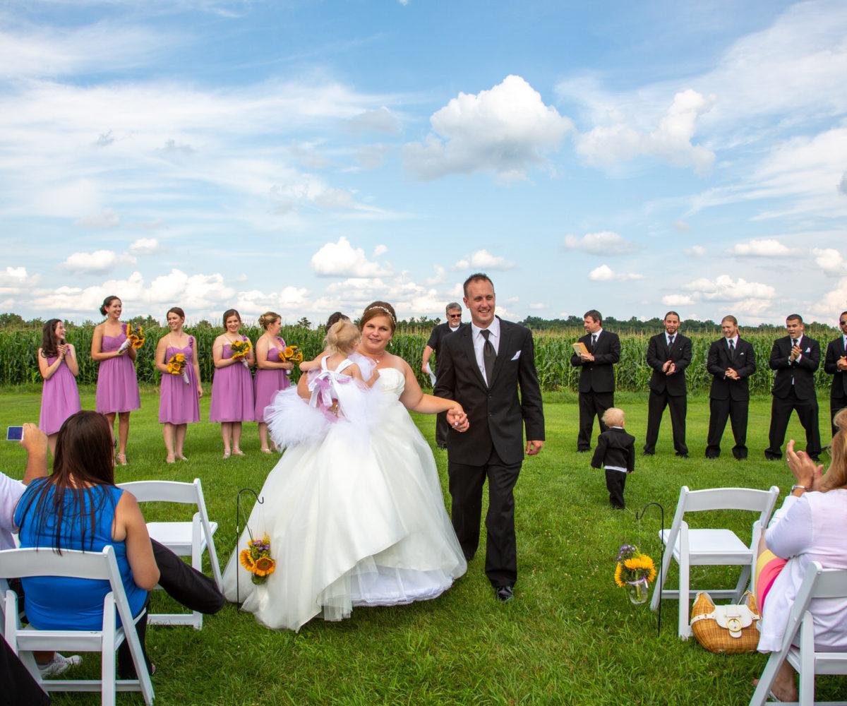Christine & John's Wedding @ The Lazy J Ranch